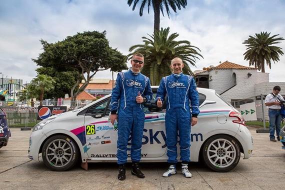 eSky Rally Team a câștigat Raliul Insulelor Canare