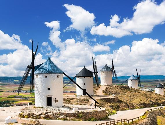 20 de curiozități din lume: de la morile de vânt ale lui Don Quixote la cele mai vechi galerii comerciale din Europa